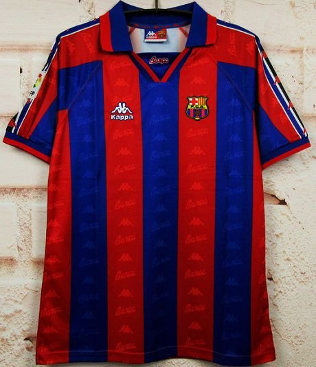 Camisa Barcelona 1996-1997 (Home-Uniforme 1)