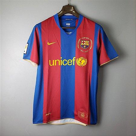 Camisa Barcelona 2007-2008 (Home-Uniforme 1)