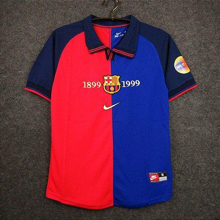 Camisa Barcelona 1999-2000 (Home-Uniforme 1)