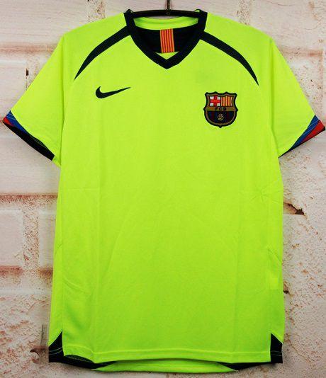 Camisa Barcelona 2005-2006 (Away-Uniforme 2)