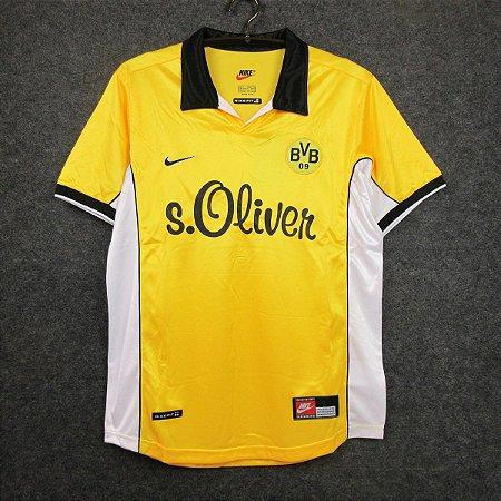Camisa Borussia Dortmund 1998-1999 (Home-Uniforme 1)