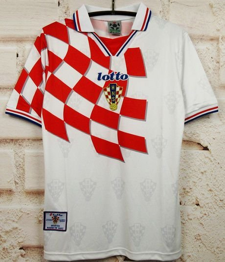 Camisa Croácia Copa do Mundo 1998 (Home-Uniforme 1)