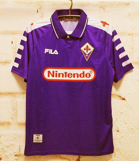 Camisa Fiorentina 1998-1999 (Home-Uniforme 1)