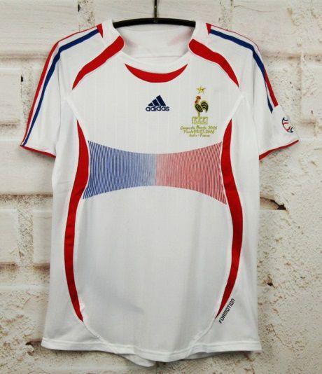 Camisa França Copa do Mundo 2006 (Away-Uniforme 2)