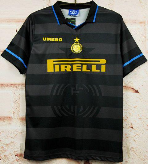 Camisa Internazionale 1997-1998 (Third-Uniforme 3)