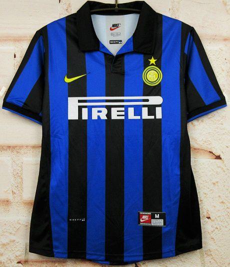 Camisa Internazionale 1998-1999 (Home-Uniforme 1)