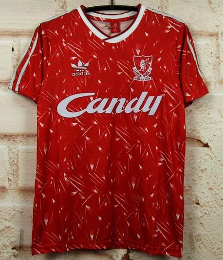 Camisa Liverpool 1989-1991 (Home-Uniforme 1)