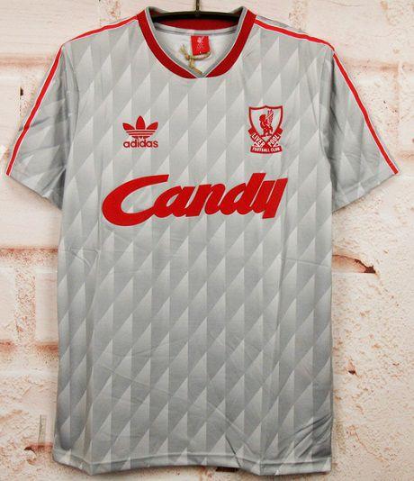 Camisa Liverpool 1989-1991 (Away-Uniforme 2)