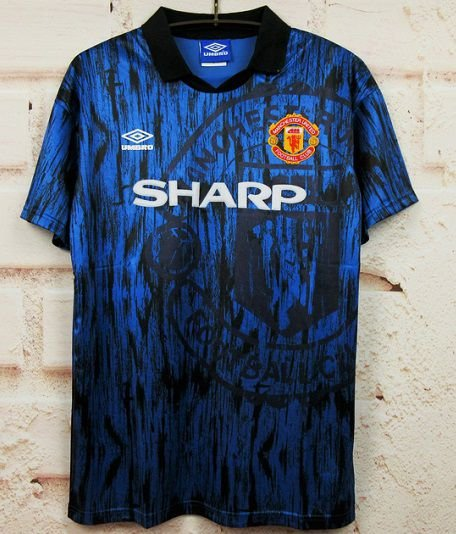 Camisa Manchester United 1992-1993 (Away-Uniforme 2)