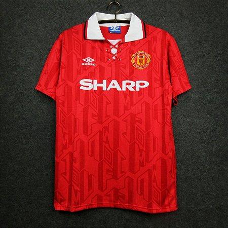 Camisa Manchester United 1993-1994 (Home-Uniforme 1)