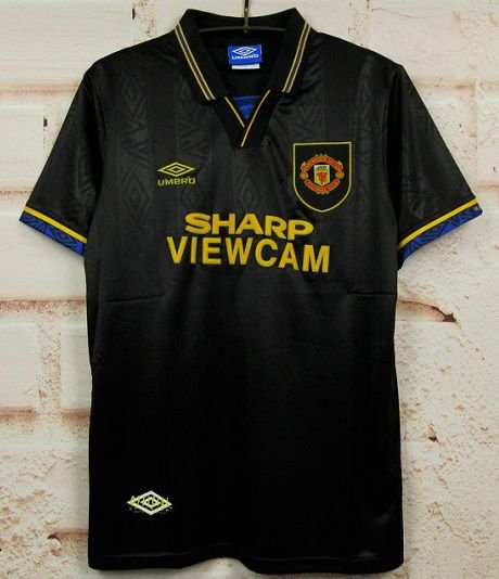 Camisa Manchester United 1994-1995 (Away-Uniforme 2)