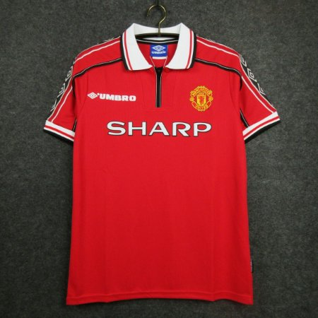 Camisa Manchester United 1998-1999 (Home-Uniforme 1)