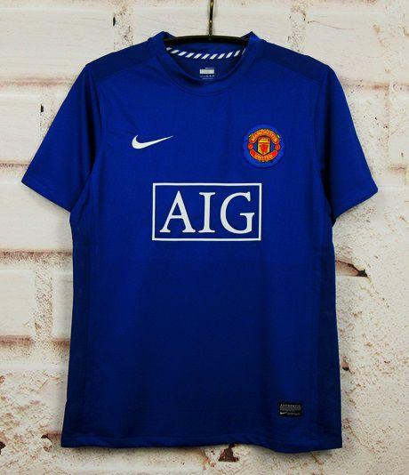 Camisa Manchester United 2008-2009 (Third-Uniforme 3)