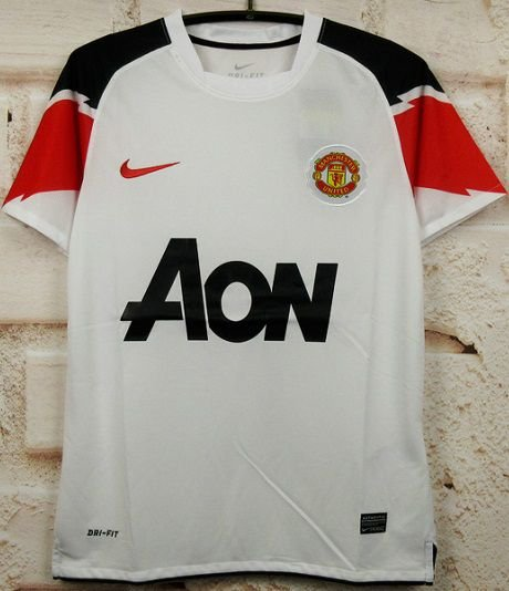 Camisa Manchester United 2010-2011 (Away-Uniforme 2)