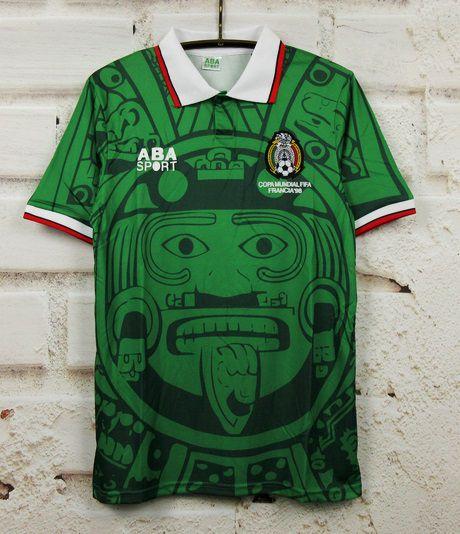 Camisa México Copa do Mundo 1998  (Home-Uniforme 1)