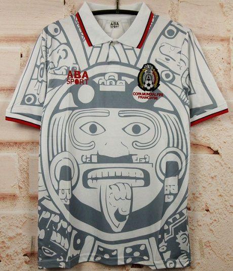Camisa México Copa do Mundo 1998  (Away-Uniforme 2)