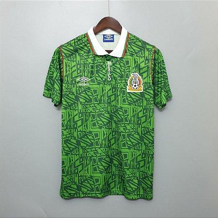 Camisa México Copa do Mundo 1994  (Home-Uniforme 1)