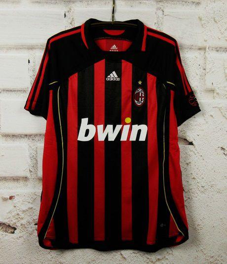 Camisa Milan 2006-2007  (Home-Uniforme 1)