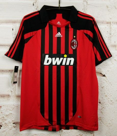Camisa Milan 2007-2008  (Home-Uniforme 1)