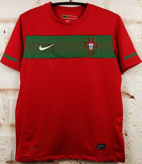 Camisa Portugal 2010 (Home-Uniforme 1)