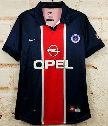 "Camisa Paris Saint Germain ""PSG"" 1998-1999 (Home-Uniforme 1)"
