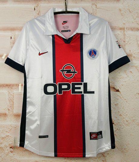 """Camisa Paris Saint Germain """"PSG"""" 1998-1999 (Away-Uniforme 2)"""