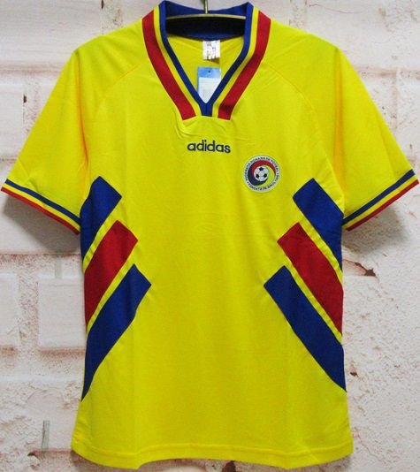 Camisa Romênia Copa do Mundo 1994 (Home-Uniforme 1)