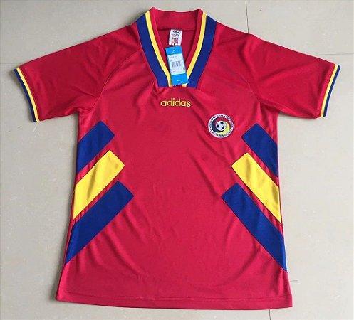 Camisa Romênia Copa do Mundo 1994 (Away-Uniforme 2)