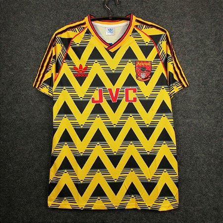 Camisa Arsenal 1991-1993 (Away-Uniforme 2)