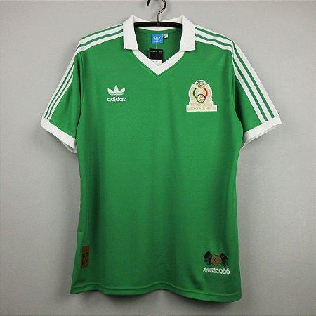 Camisa México Copa do Mundo 1986 (Home-Uniforme 1)