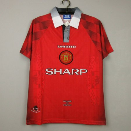 Camisa Manchester United 1996-1997 (Home-Uniforme 1)