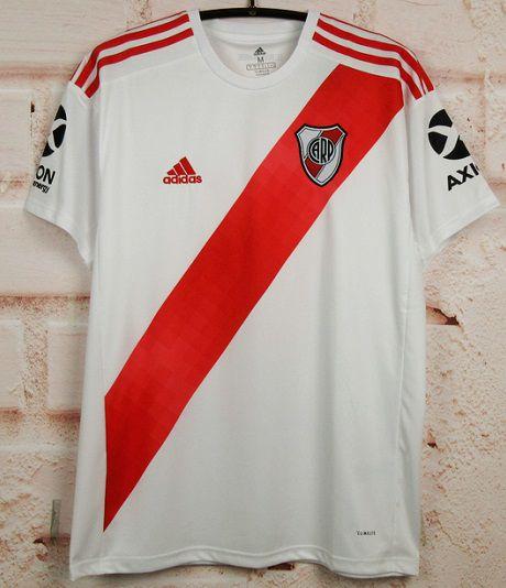 Camisa River Plate 2019-20 (Home-Uniforme 1) - Modelo Torcedor
