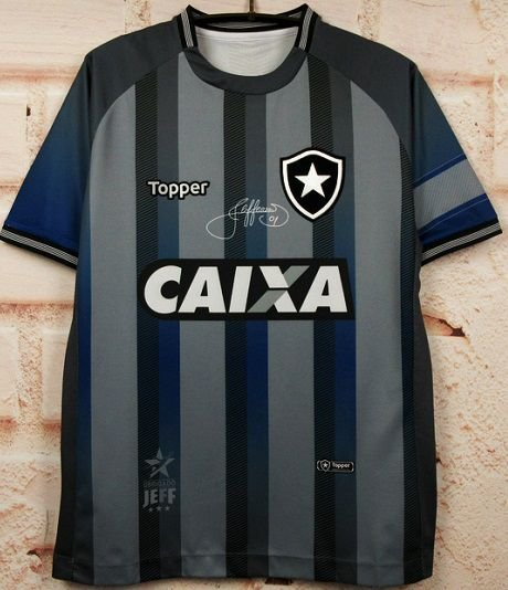 Camisa Botafogo Goleiro Jefferson - Despedida 2018