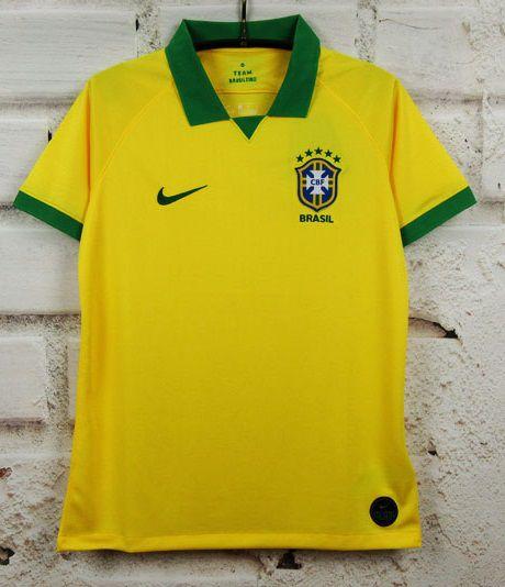 Camisa Brasil 2019-20 (Home-Uniforme 1) - Modelo Torcedor