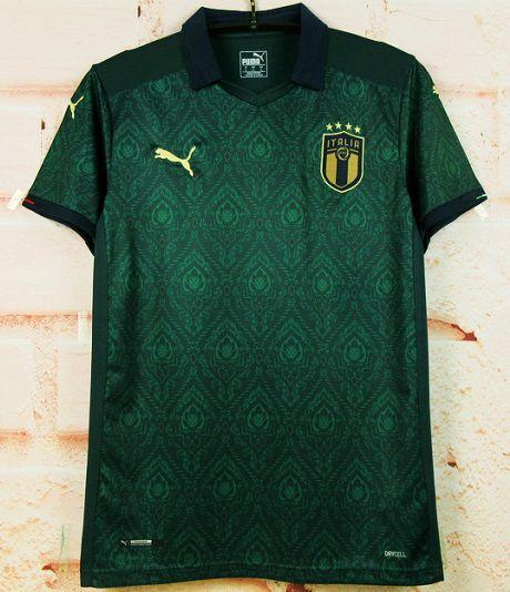 Camisa Itália 2019-20 (Third-Uniforme 3) - Modelo Torcedor