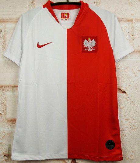 """Camisa Polônia 2019 """"Centenário da Federação"""""""