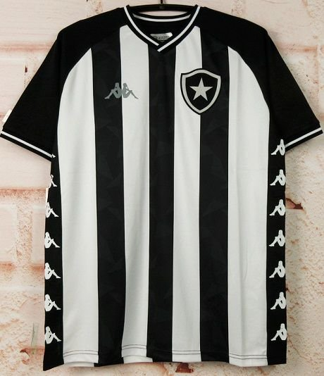 Camisa Botafogo 2019-20 (Home-Uniforme 1) - Modelo Torcedor