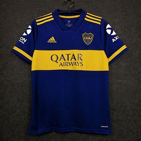 Camisa Boca Juniors 2020-21 (Home-Uniforme 1) - Modelo Torcedor