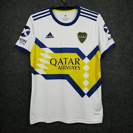 Camisa Boca Juniors 2020-21 (Away-Uniforme 2) - Modelo Torcedor
