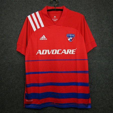 Camisa FC Dallas 2020-21 (Home-Uniforme 1) - Modelo Torcedor