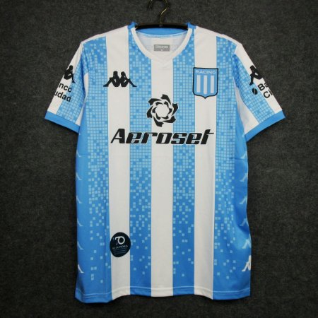 Camisa Racing Club 2020-21 (Home-Uniforme 1) - Modelo Torcedor