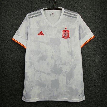 Camisa Espanha 2020-21 (Away-Uniforme 2) - Modelo Torcedor