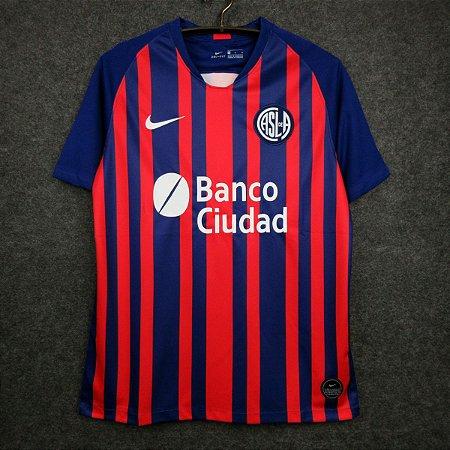 Camisa San Lorenzo 2020-21 (Home-Uniforme 1) - Modelo Torcedor