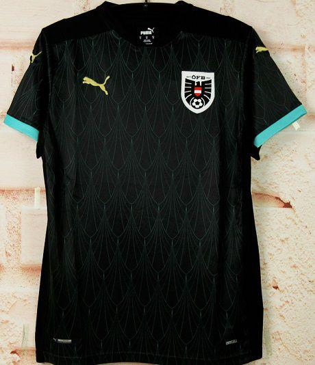 Camisa Áustria 2020-21 (Away-Uniforme 2) - Modelo Torcedor