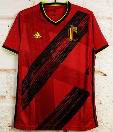Camisa Bélgica 2020-21 (Home-Uniforme 1) - Modelo Torcedor