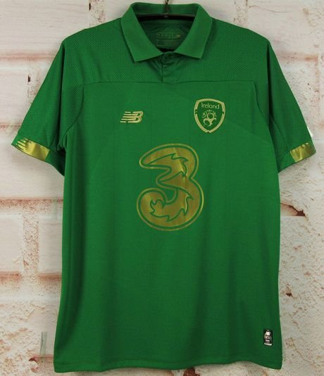 Camisa Irlanda 2020 (Home-Uniforme 1) - Modelo Torcedor