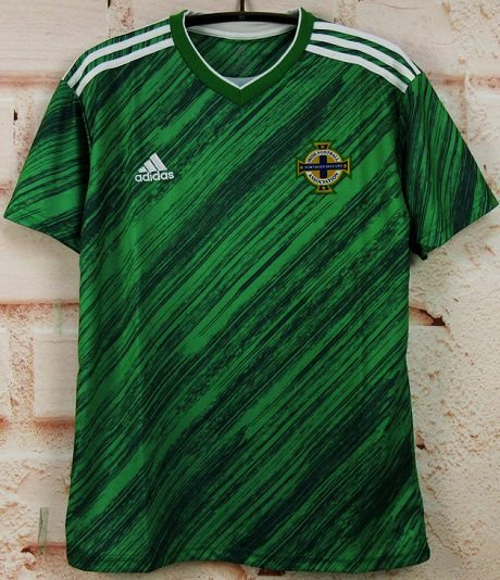 Camisa Irlanda do Norte 2020 (Home-Uniforme 1) - Modelo Torcedor