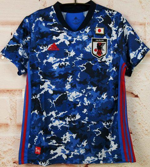 Camisa Japão 2020-21 (Home-Uniforme 1) - Modelo Torcedor