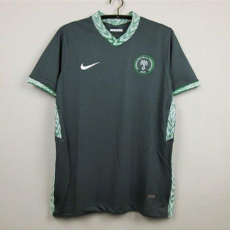 Camisa Nigéria 2020-21 (Away-Uniforme 2) - Modelo Torcedor