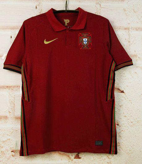 Camisa Portugal 2020-21 (Home-Uniforme 1) - Modelo Torcedor